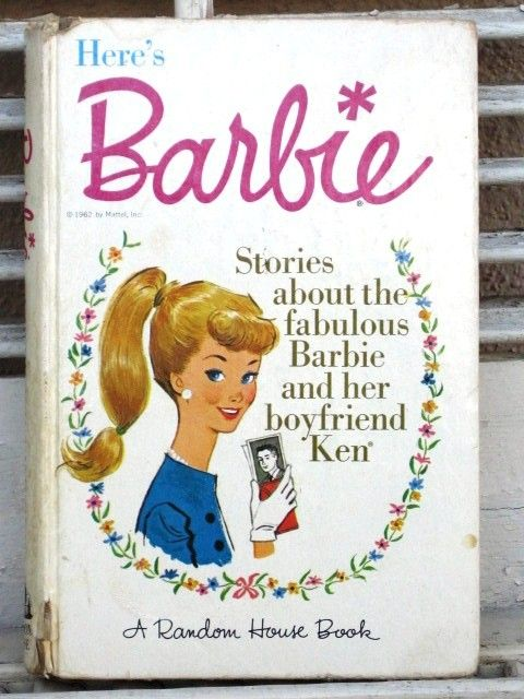 Vintage Barbie Book Here's Barbie 1962 A Random House Book - Barbie Doll, 1960s, Mattel, Barbie and Ken  I want this! @Tipper Raddle