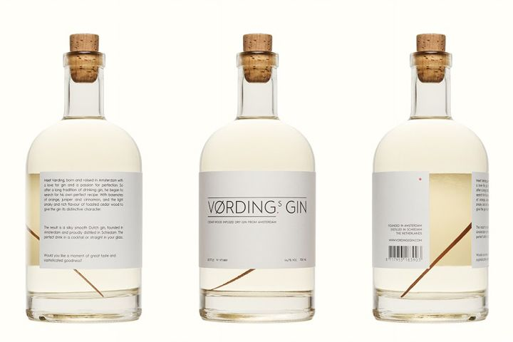 Vørding's Gin packaging by Studio Vørding » Retail Design Blog