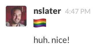 Gay Flag Emoji
