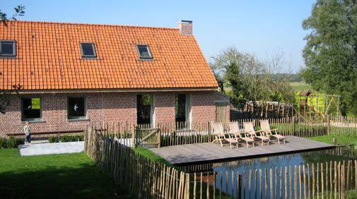 Belgie, 13persVakantiewoning Grimminckhof Weekendje weg Westhoek Watou Poperinge