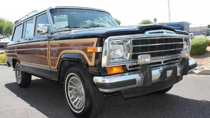 1988 Grand Wagoneer 5 9l V8 3spd Scottsdale Az Scottsdale Grands Jeep Grand