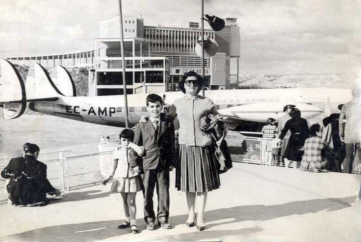 Aeropuerto de Barajas (Madrid), 1963   - Portal Fuenterrebollo