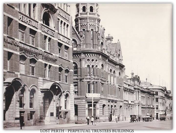 Perth once had beautiful buildings