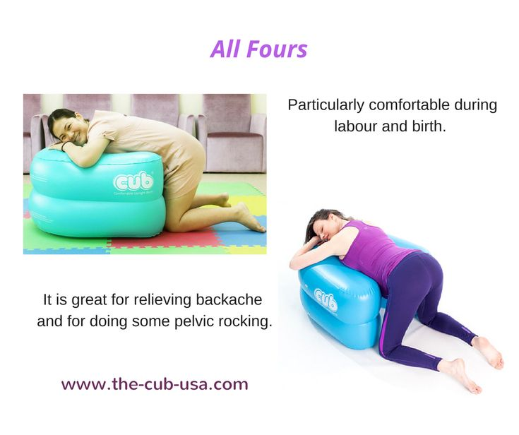 All Fours (or Hands and Knees) position allows you to ...