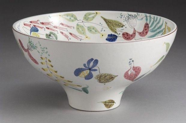 Stig Lindberg Bowl Designer: Lindberg, Stig Producer:                         Gustavsberg                                                                                                             Year:                         1950