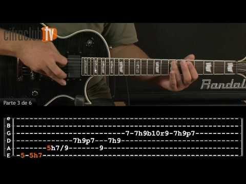 ▶ Seek And Destroy - Metallica (aula de guitarra completa) - YouTube