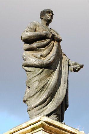 Seneca Statue From Cordoba - CC Flickr User hermenpaca