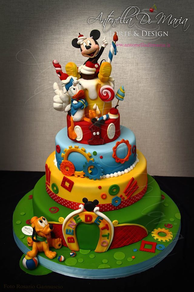 Images Of Mickey Mouse Clubhouse Cakes