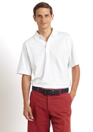 SCOTT BARBER Jersey Polo Shirt