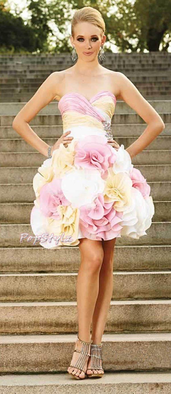 Terani Short & Sassy Prom Dress