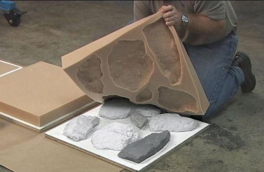 Формы для камней из бетона