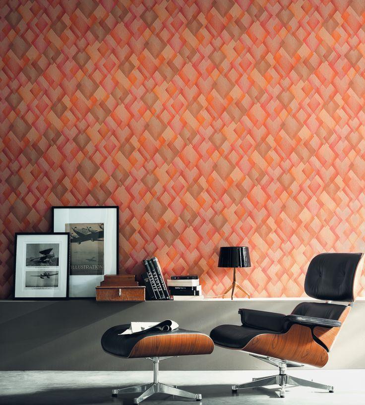 Interior Design Classic, Retro | Catwalk Wallpaper by Casamance | Jane Clayton
