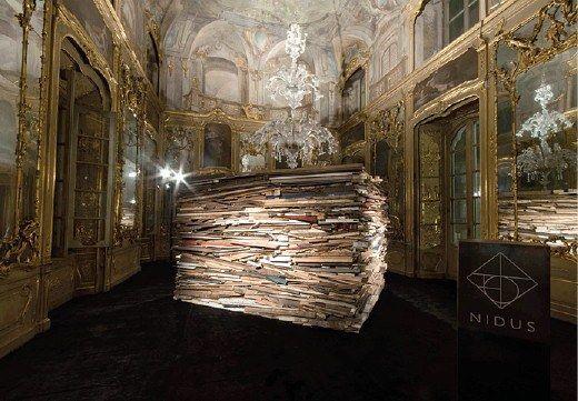 The Rebirth. Tribute to Krizia by Faye Toogood.  #krizia #milan #MFW #palazzolitta #fashionweekmilan #fashion #madeinitaly #contemporary #art