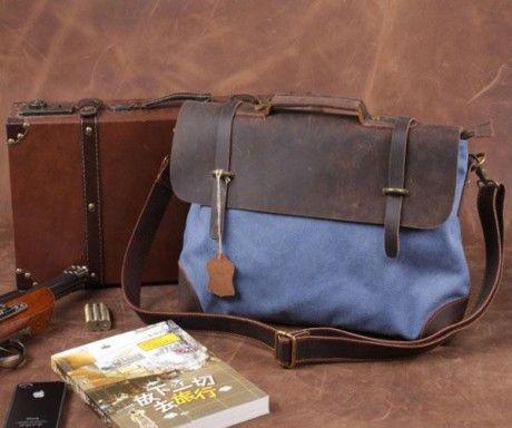 El Yapımı Deri Omuz Çantası 199.90 TL  Son derece kaliteli malzemeden üretilmiş ve şık görünümlü erkek deri omuz ve el çantası. Kitap, tablet, bilgisayar ve klasörlerinizi alacak genişliktedir. El yapımı bu şık çantayı hep taşımak isteyeceksiniz