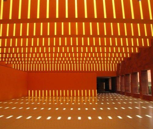 ricardo legoretta   genius   museo laberinto de ciencias y artes