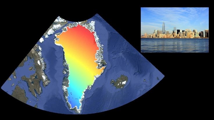 NASA Links Port-City Sea Levels to Regional Ice Melt - The contribution of melting ice in Greenland