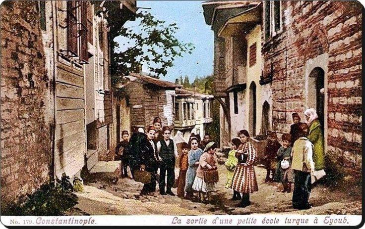 Eyüp Sultan'da bir mahalle, 1900'ler