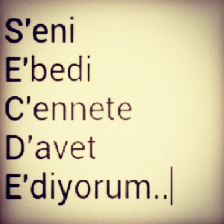 Holy Quran 51:56 ------------------ وَمَا خَلَقْتُ الْجِنَّ وَالْإِنْسَ إِلَّا لِيَعْبُدُونِ  I created the jinn and humans for nothing else but that they may serve Me;  Ben cinleri ve insanları, ancak bana kulluk etsinler diye yarattım.  #hadith #hadeeth #quran #coran #hadis #kuranıkerim #salavat #dua #islam #muslim #muslima #muslimah #Allah #HzMuhammed(S.A.V) #TheQuran #TheProphetMuhammed(P.B.U.H) #TheHolyQuran #religion #invitetoislam #islamadavet
