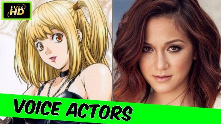 Death Note Voice Actors Death Note Anime English Death Note 2017 Cast