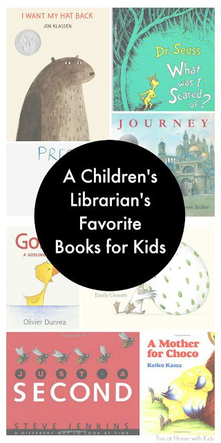 An experienced Children's Librarian shares her favorite ever books for kids ages 0 -10.