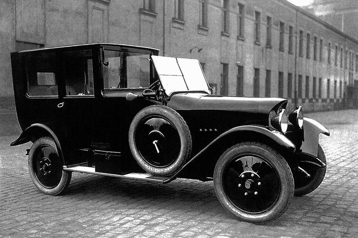Praga Mignon Coupé de Ville '1920