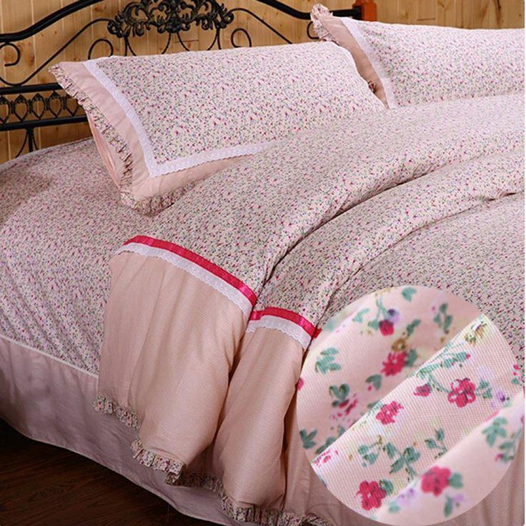 "ESKIMO 100% cotton Princess Baby Bedding Set Twin/Full/Queen Size bed skirt style/Home Textile/Pink bed linen/duvet cover set » Бизнес журнал ""Сфера"" - каталог новых обзоров и свежих идей для бизнеса."