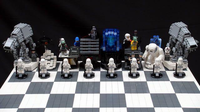 Des échiquiers Lego StarWars  (5)