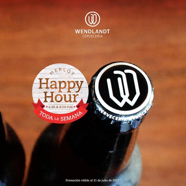 ¡Cerveza Wendlandt de venta en #MerlotBistro! #HappyHour #Beer #CraftBeer #Cerveza #CervezaArtesanal