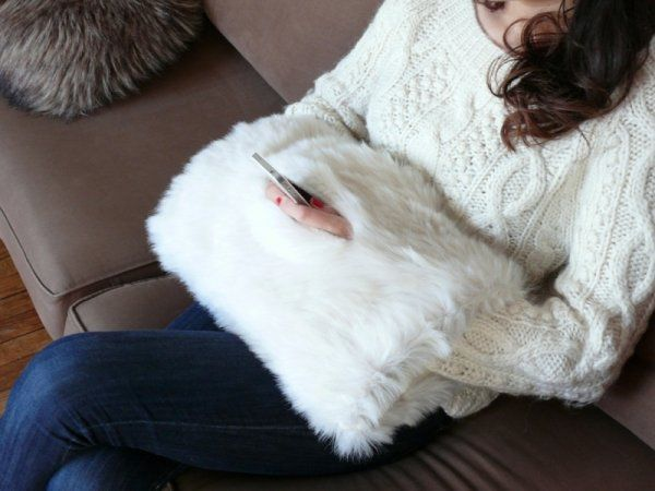 Le coussin manchon geek and girly - Marie Claire Idées