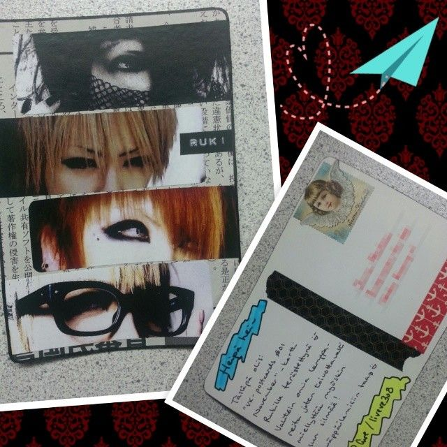 Visual kei-PC with Ruki from the GazettE