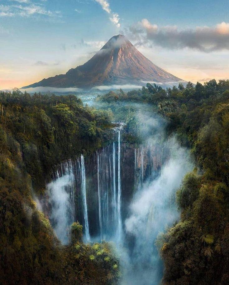 Waterfall, Scenery, Nature Photos