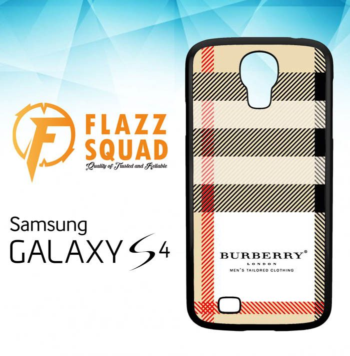 Burberry Samsung Galaxy S4 Case