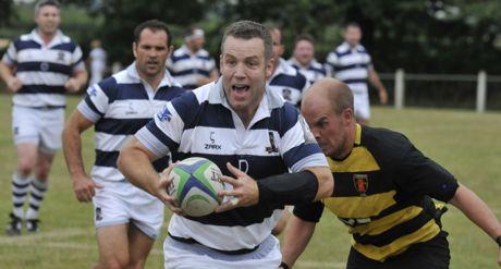 Bristol Rugby - Bristol Legends Beat Thornbury In Thriller