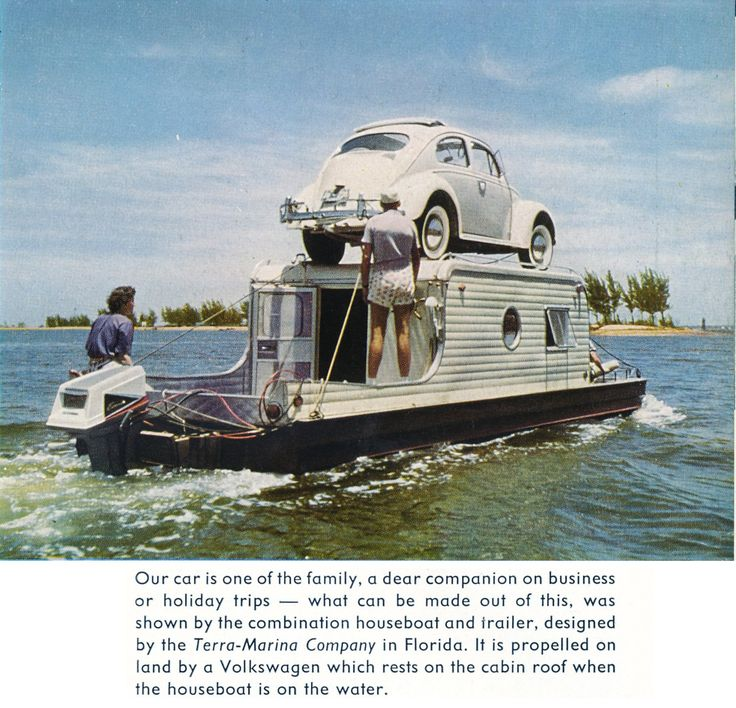 vintage trailers imagaes | TheSamba.com :: Gallery - Houseboat Trailer conversion