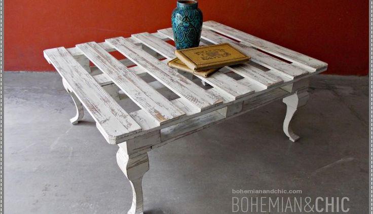 Cómo hacer una mesa de centro con un palet: una idea genial