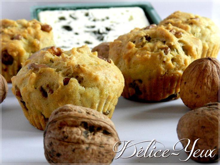 Muffins Roquefort & Noix