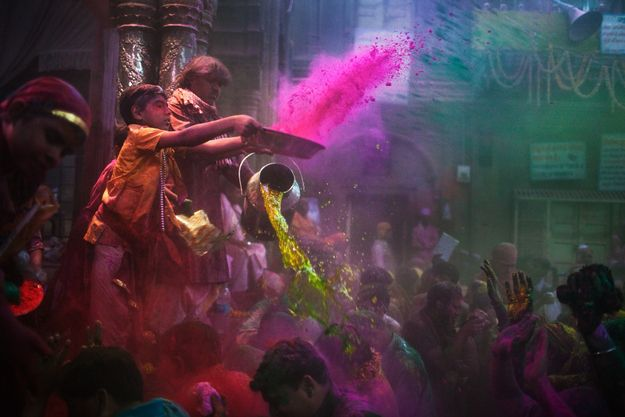Holi — Celebrated by Hindus Around the World / 23 World Festivals You Won't Want To Miss (via BuzzFeed)