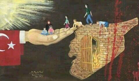 Vicdanlí Türkiyem ne olur vicdanlí kal hep merhamet et imanlí kal ne olur Allahím imanímízí koru...