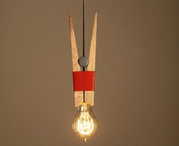 Peg lamp by Steffi Min