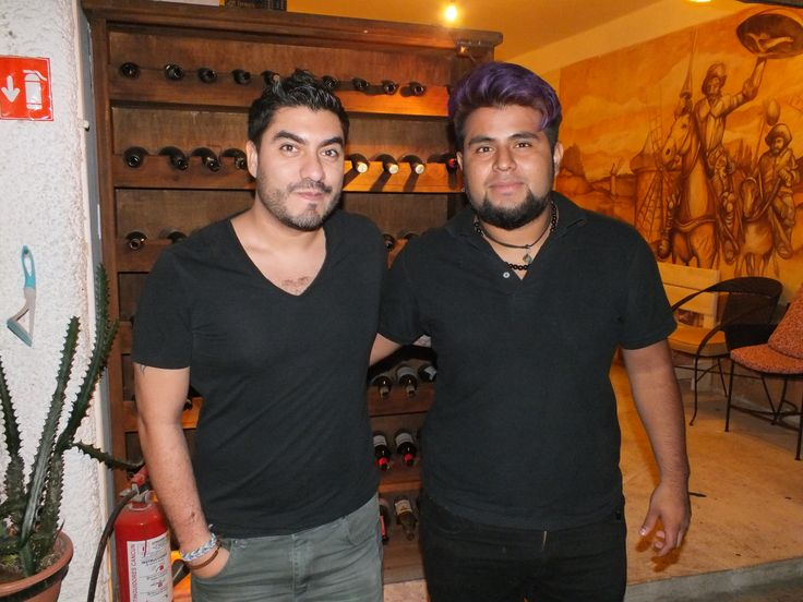 Rikardo Guillen y Eduardo Nuñez
