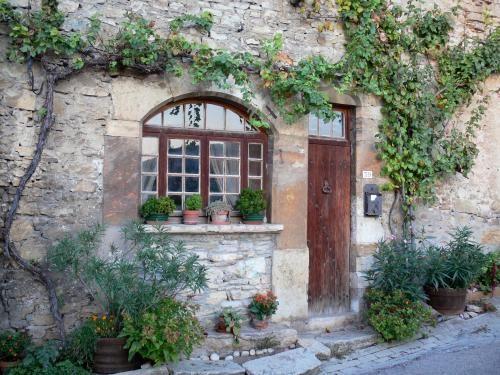 Le village des roses - Niché entre falaises et Rhône, le village de Saint-Sorlin-en-Bugey, surnommé le village des roses en raison des multiples rosiers…