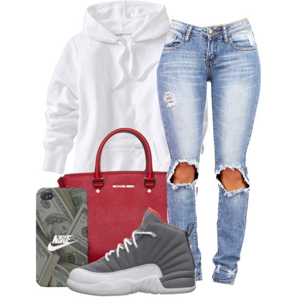 A fashion look from September 2014 featuring Old Navy hoodies and MICHAEL Michael Kors handbags. Browse and shop related looks.