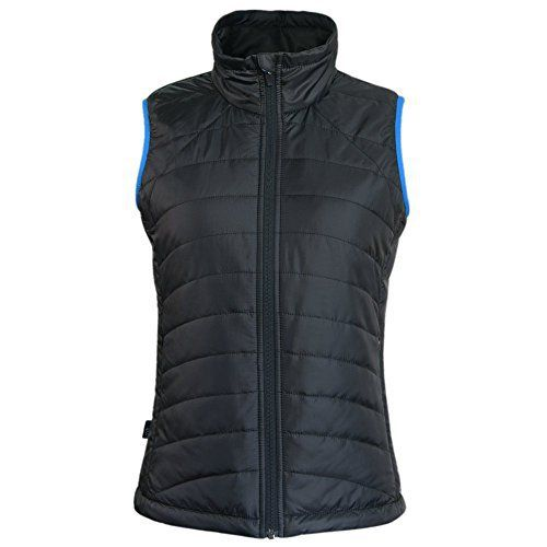 Corna Women's Sleeveless Jacket Stand Collar Gilet Quilted Padded Springs Vest This Women Zip up Padded Puffer Down Filled Light-Weight Vest is very soft, perfect for every seasons when you out for fun. Match with sweater t-shirt in the spring and autumn or wear it under another coat in the depths of winter, warm and fashionable. Suitable for all seasons all occasions   Please use the following guide to determine your size Detail size S: Chest 90 cm; Shoulder width (Straight