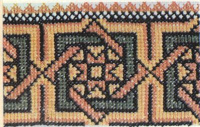 FolkCostume&Embroidery: Hutsul Cross Stitch Embroidery, Ukraine