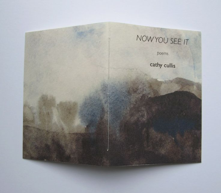 Image of Now You See It - a poetry zine - handmade booklet