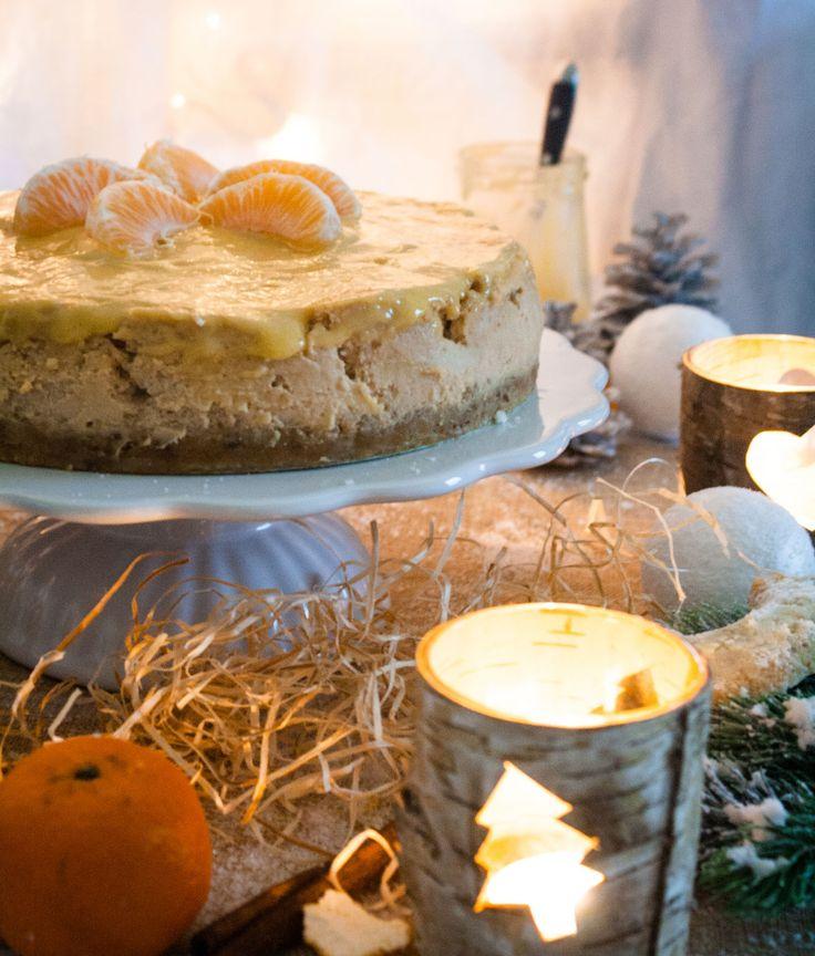 Weihnachtlicher Käsekuchen von Ein Häppchen Liebe {Gastbeitrag}
