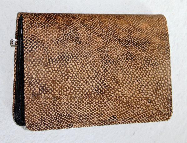 Burbot leather wallet