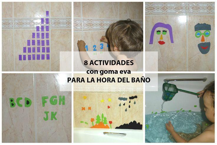 8 actividades para que la hora del baño sea más seductora.