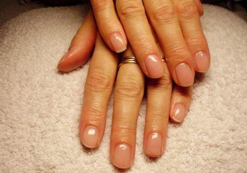 Korte nagels langer laten lijken. #Nagels #Nails #Tips