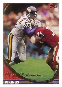 1994 Topps #115 Chris Doleman Front